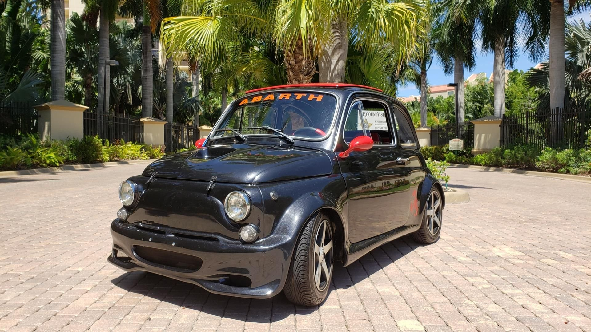 1971 fiat 500 abarth coupe