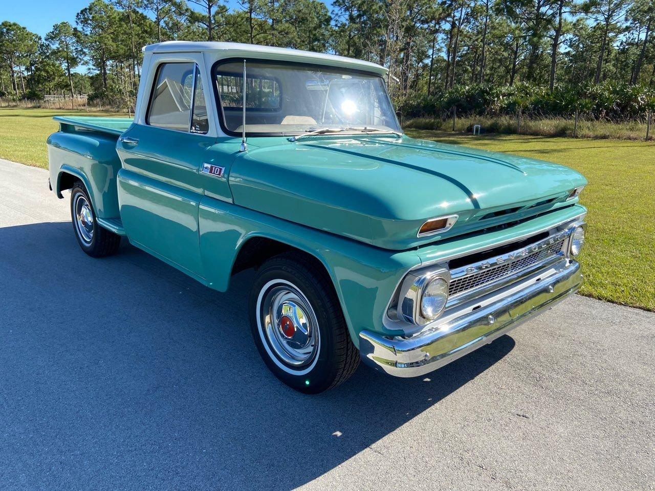 1965 chevrolet c10 stepside pickup