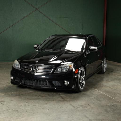 2009 mercedes benz c63 amg sport sedan