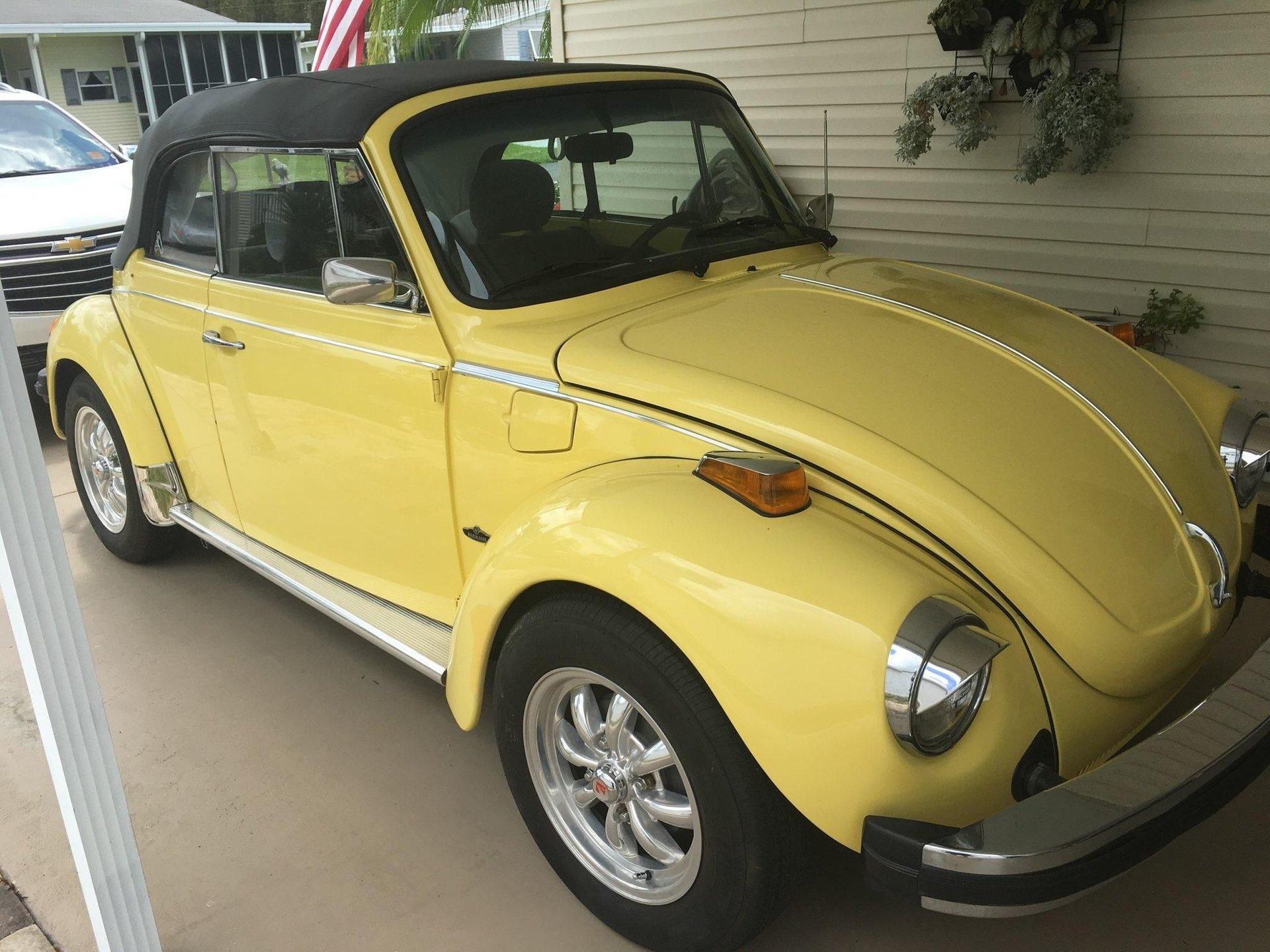 1978 volkswagen beetle convertible