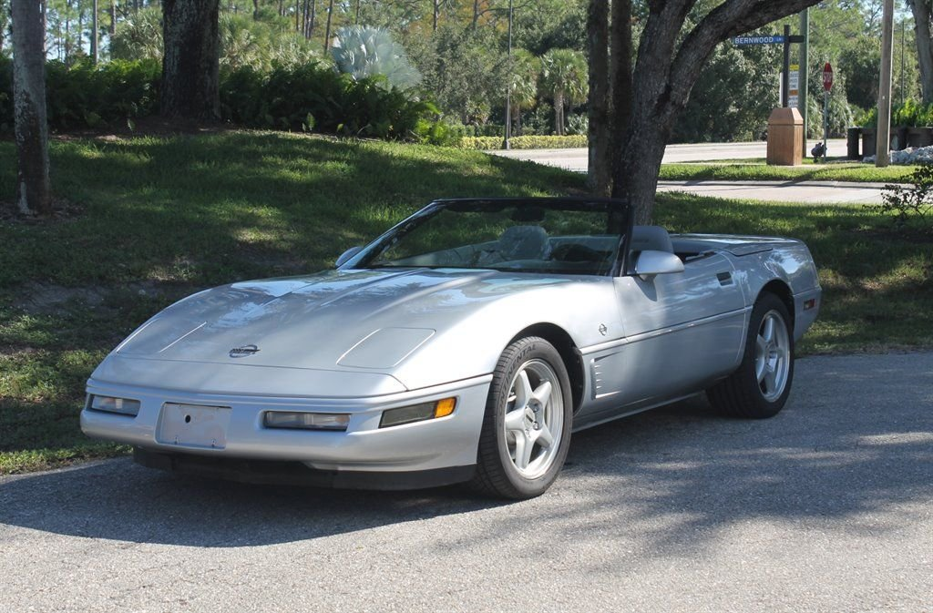 1996 chevrolet corvette collector s edition convertible