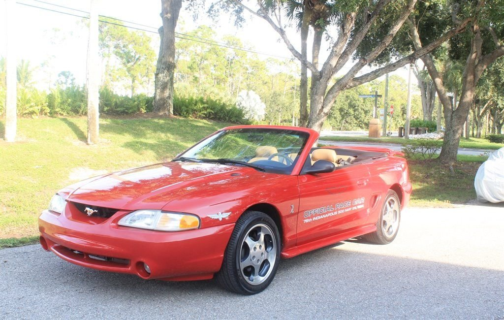 1994 ford mustang cobra indy pace car convertible