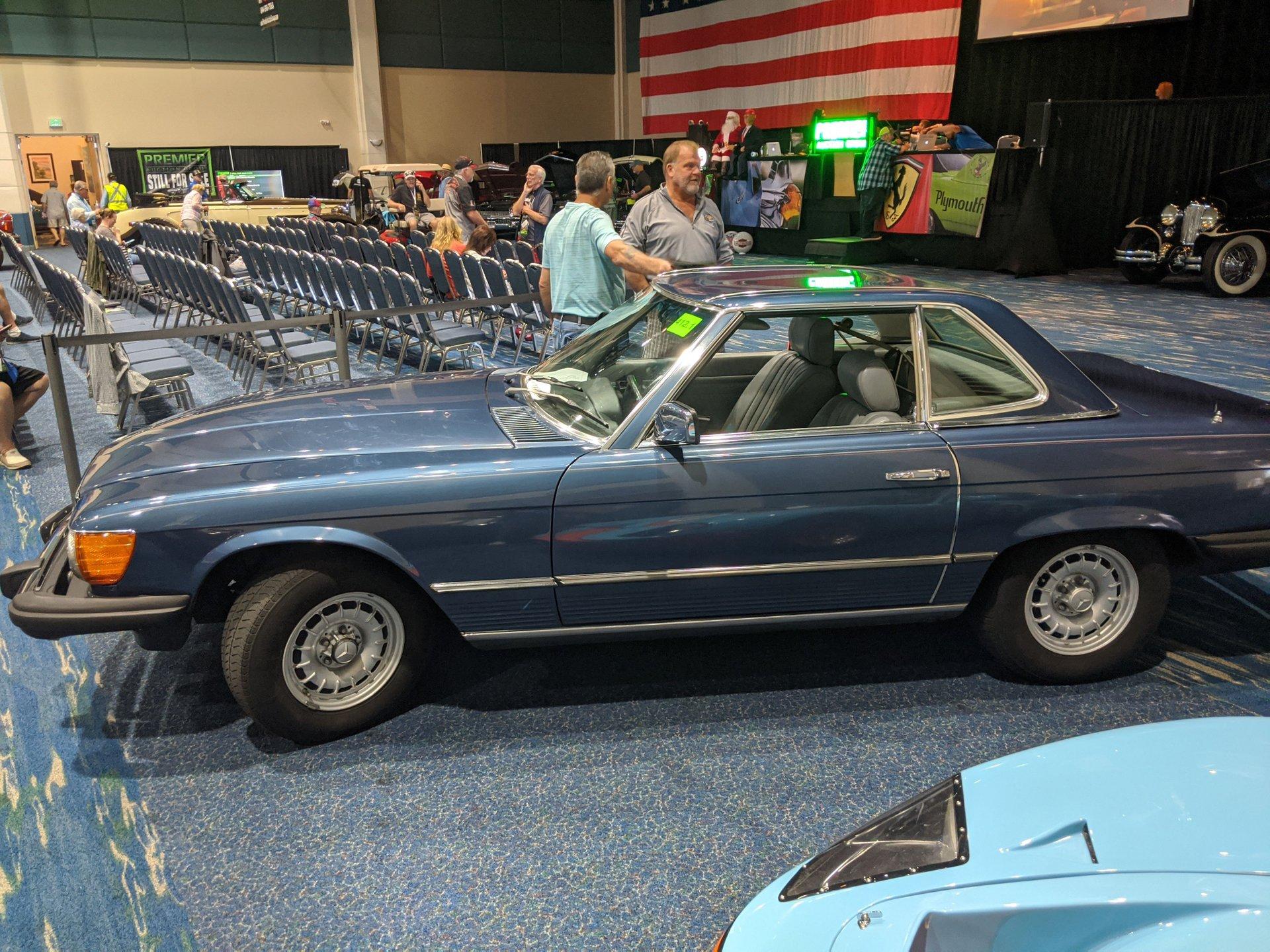 1982 mercedes benz 380sl roadster