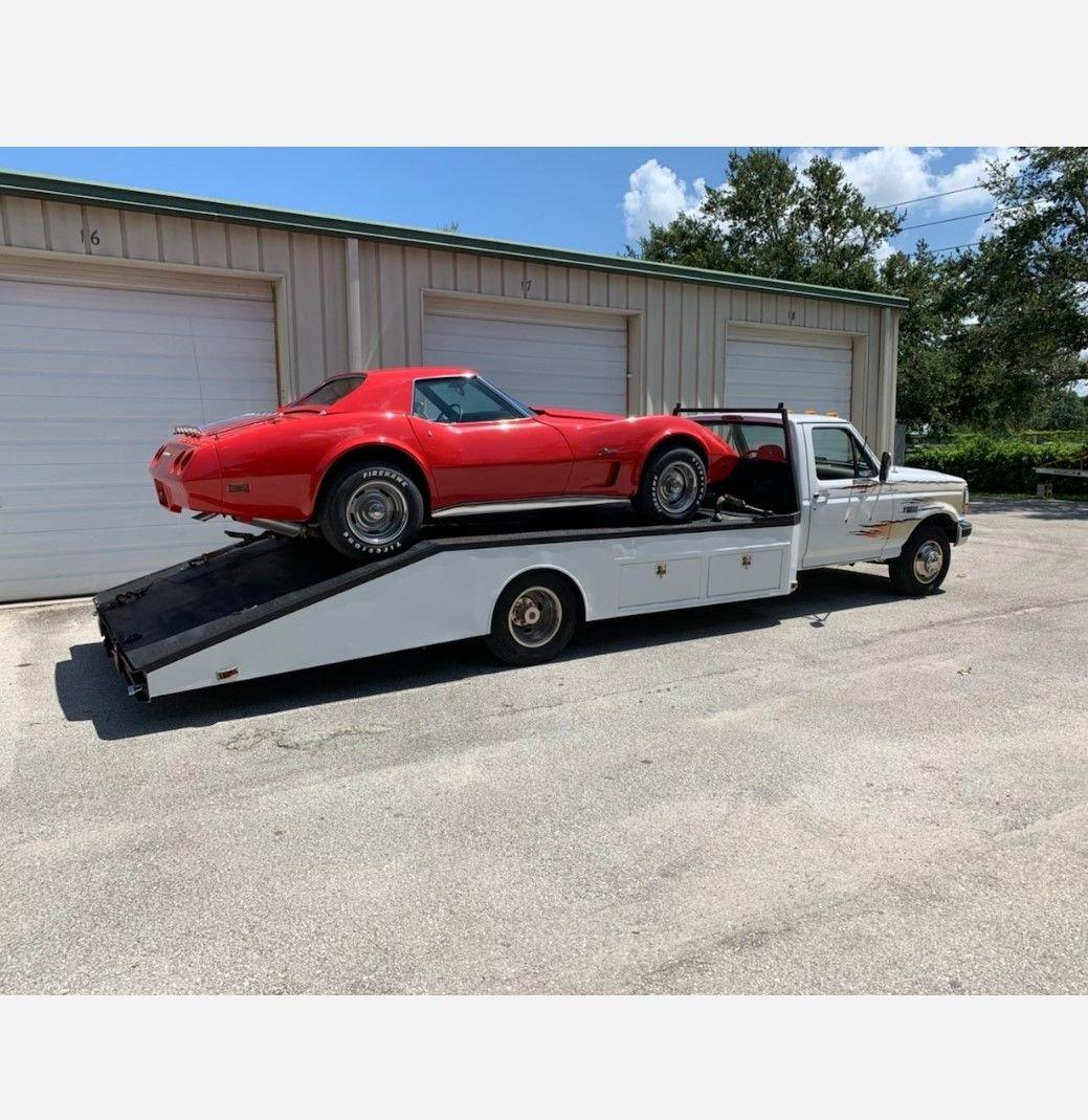 1996 ford f350 car hauler