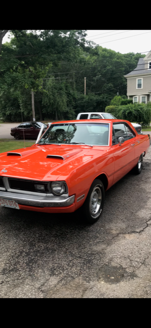 1970 dodge dart swinger hardtop