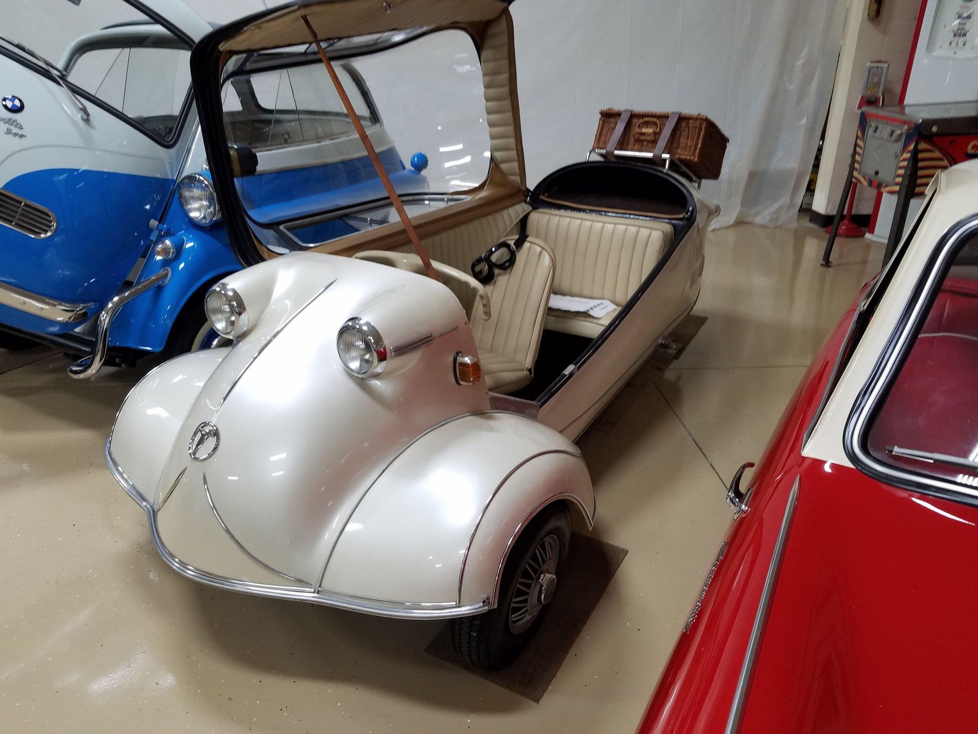 1955 messerschmitt kr200 cabin scooter