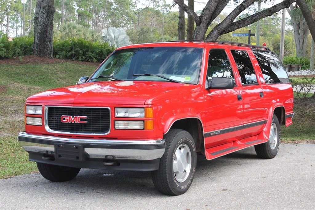 1995 gmc suburban 1500 sierra sl suv