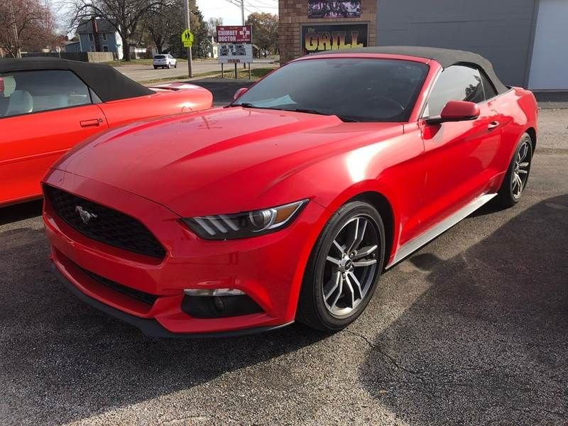 2016 ford mustang turbo convertible