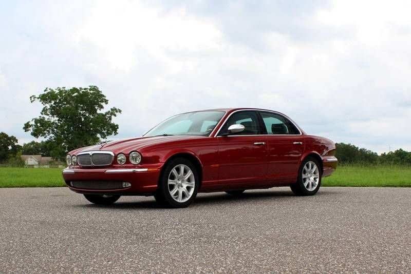 2004 jaguar xj vanden plas sedan