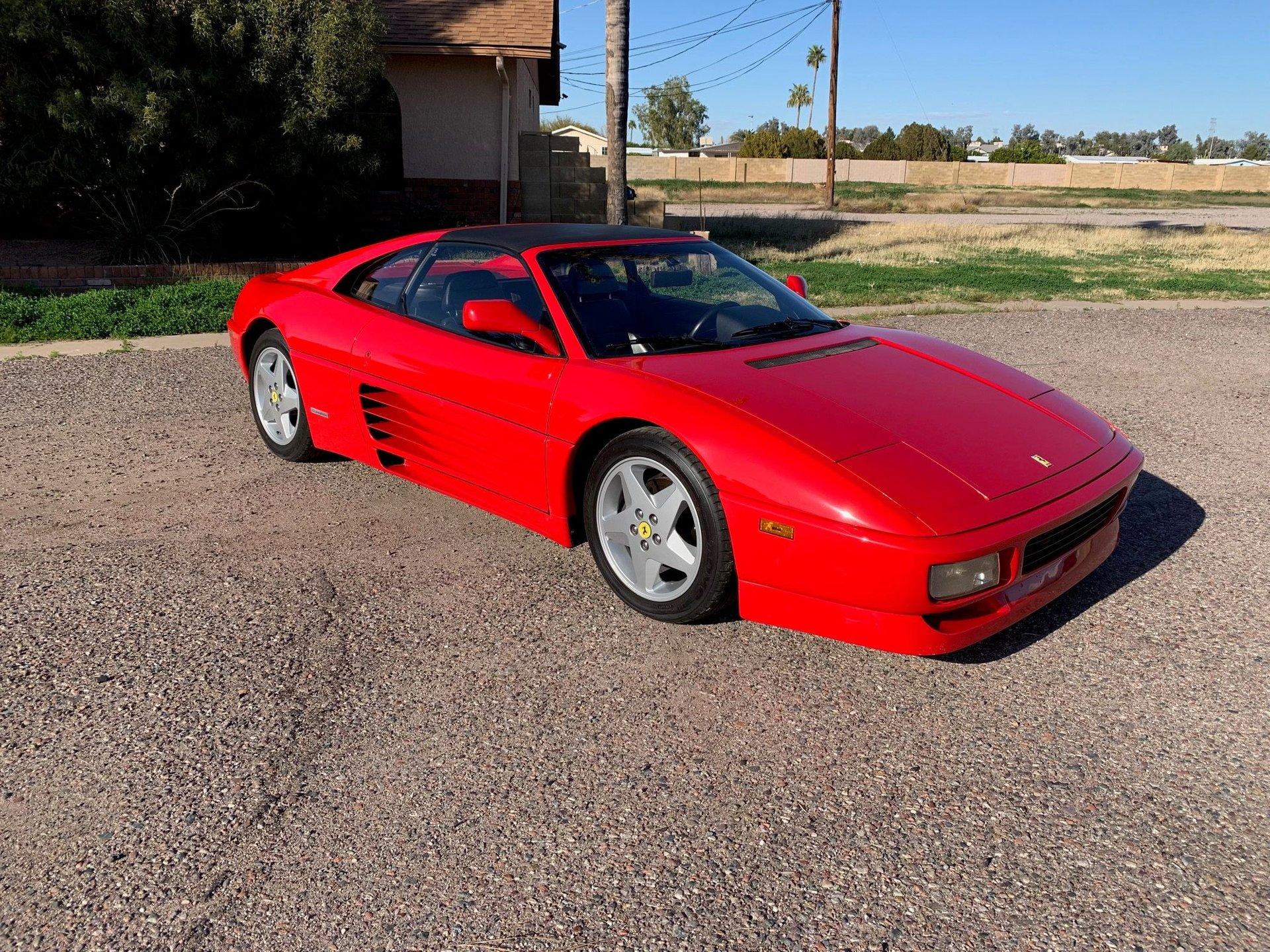 1991 ferrari 348 ts targa coupe