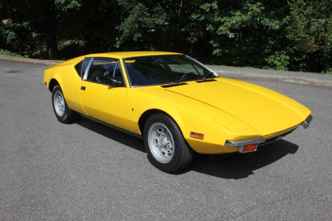 1971 de tomaso pantera coupe