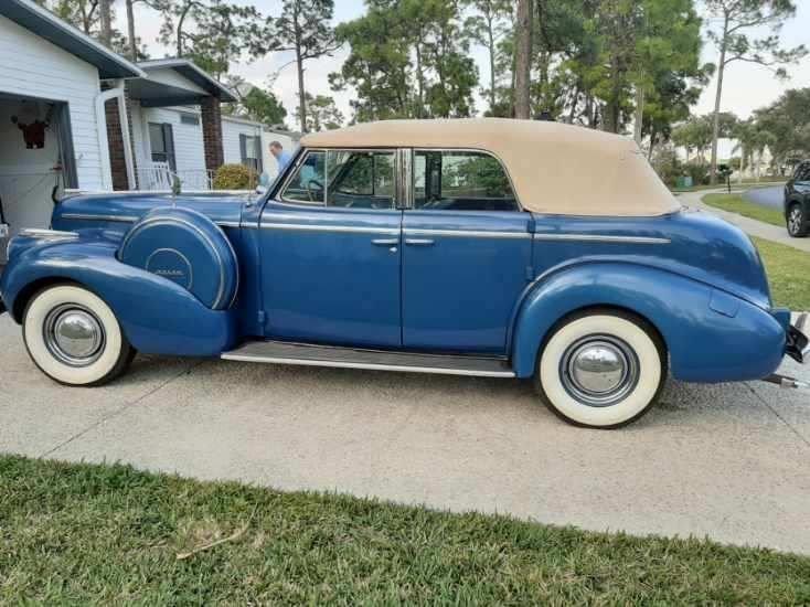 1940 buick century model 61c phaeton