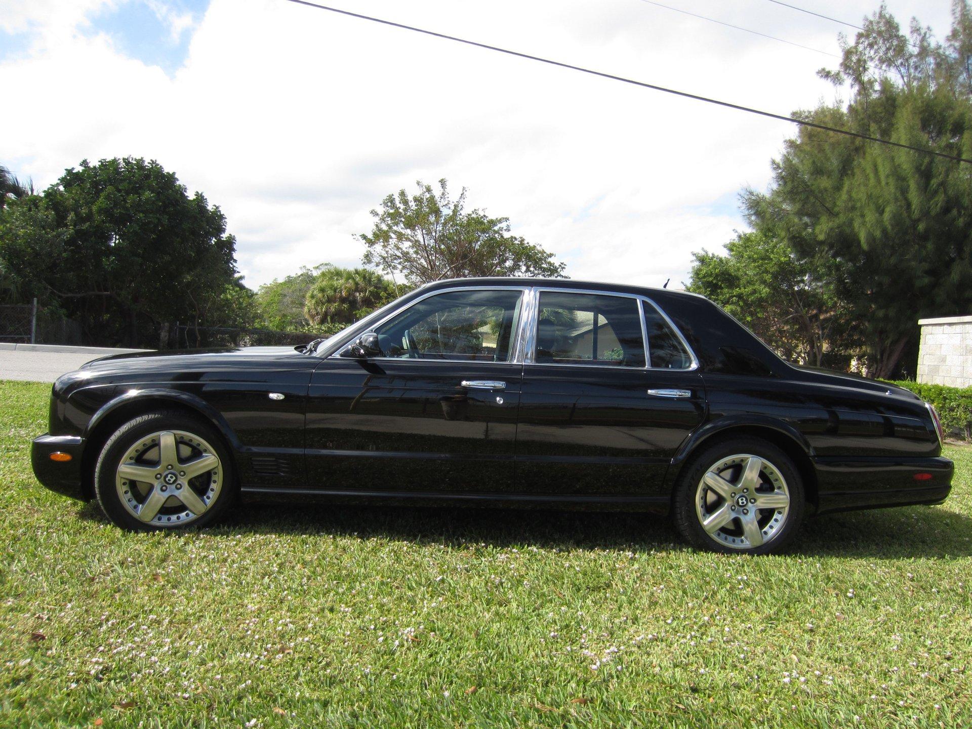 2005 bentley arnage t sedan