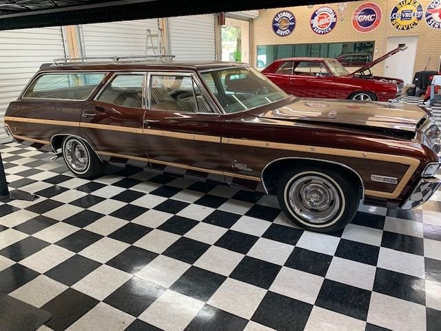 1968 chevrolet caprice woody station wagon