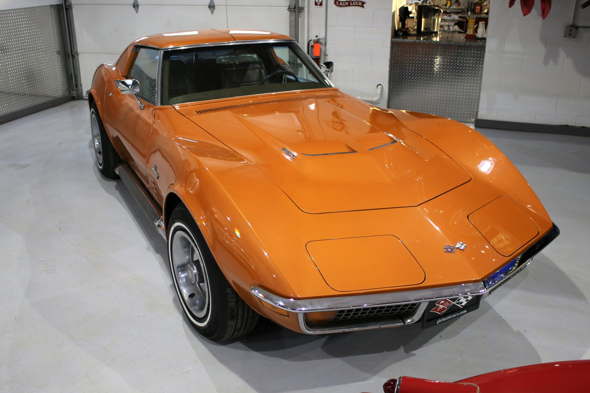 1972 chevrolet corvette 454 stingray coupe