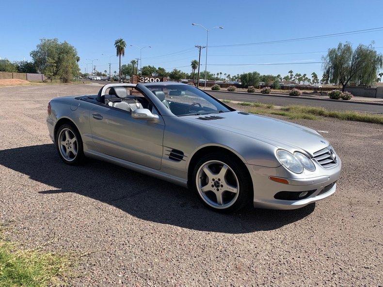 2003 Mercedes-Benz SL500 For Sale
