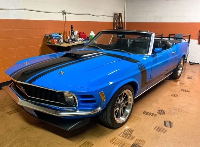 1970 ford mustang boss 302 convertible tribute