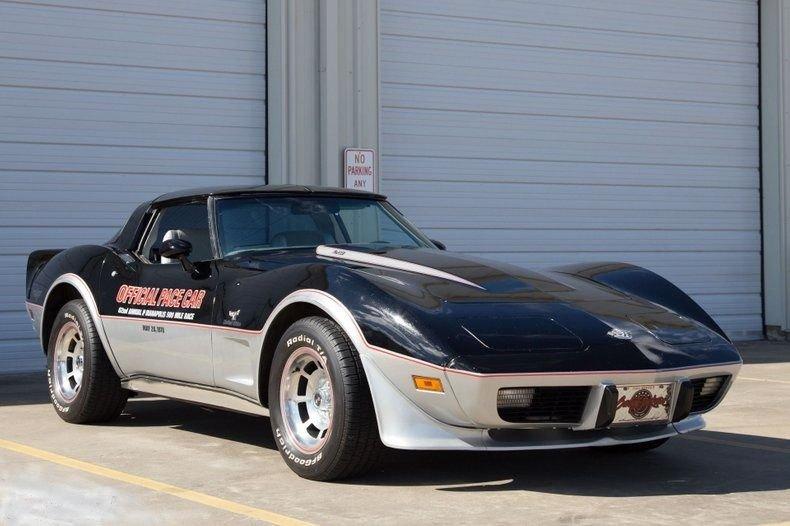 1978 chevrolet corvette indy pace car coupe