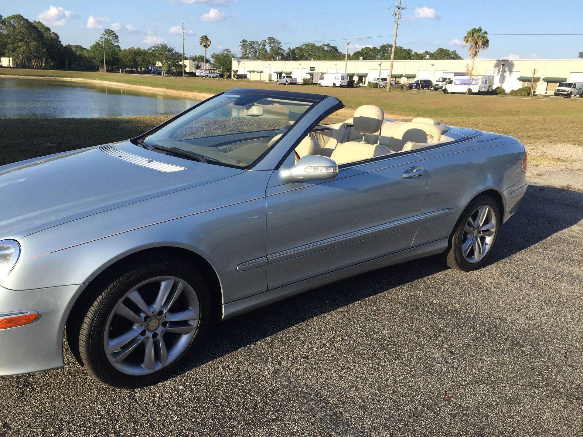 2008 mercedes benz clk convertible