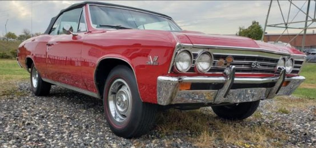 1967 chevrolet chevelle ss l78 convertible