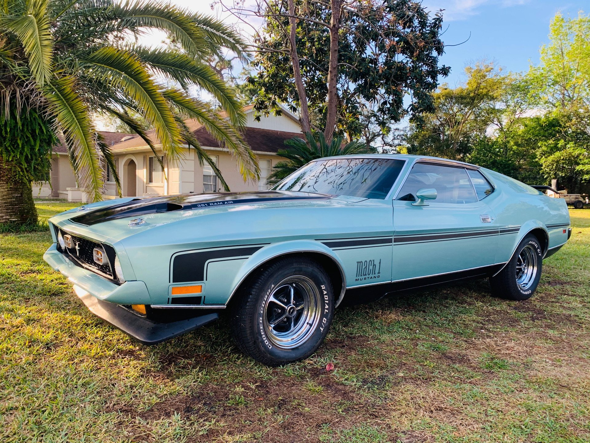 1972 ford mustang mach i fastback