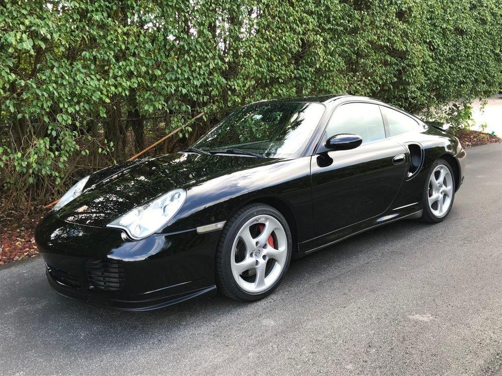 2003 porsche 911 996 turbo coupe
