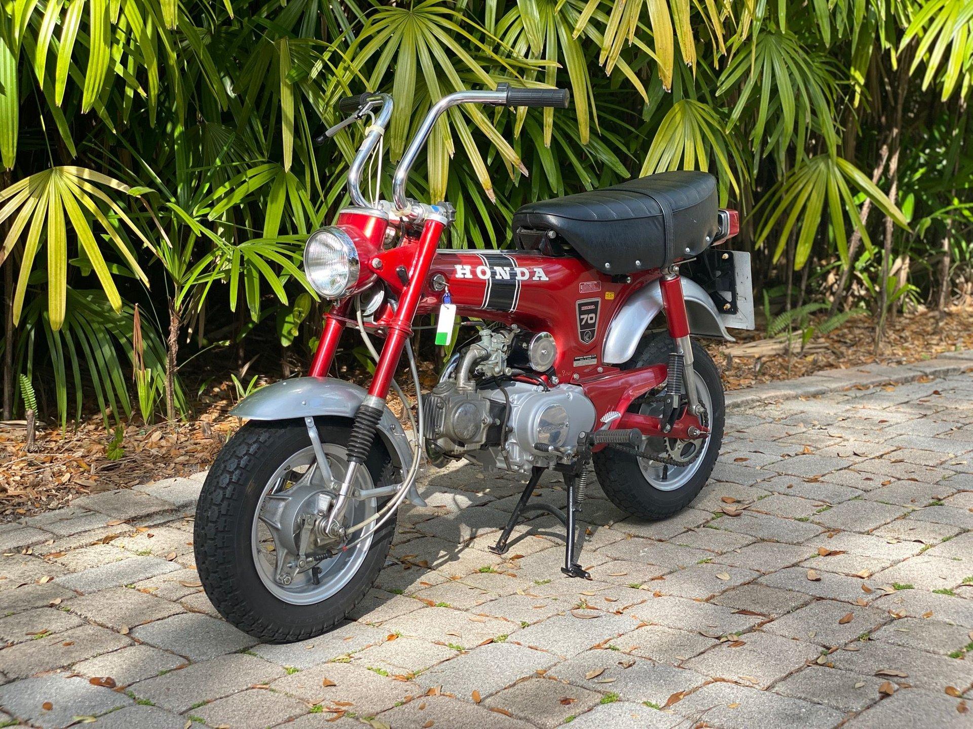 1977 honda st70 minibike