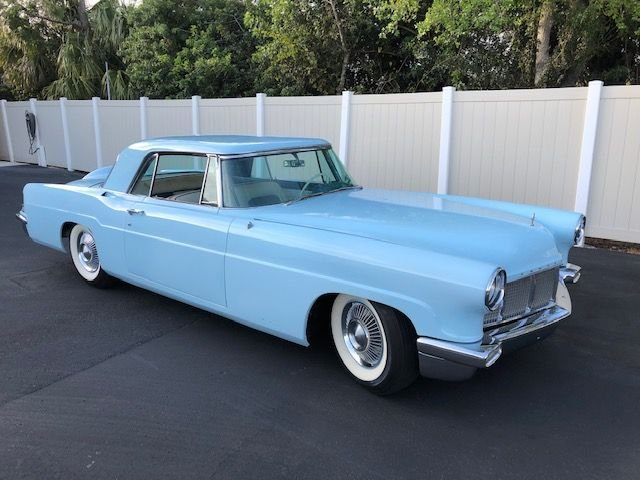 1956 lincoln continental mark ii hardtop