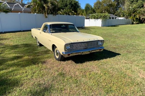 1966 ford ranchero pickup