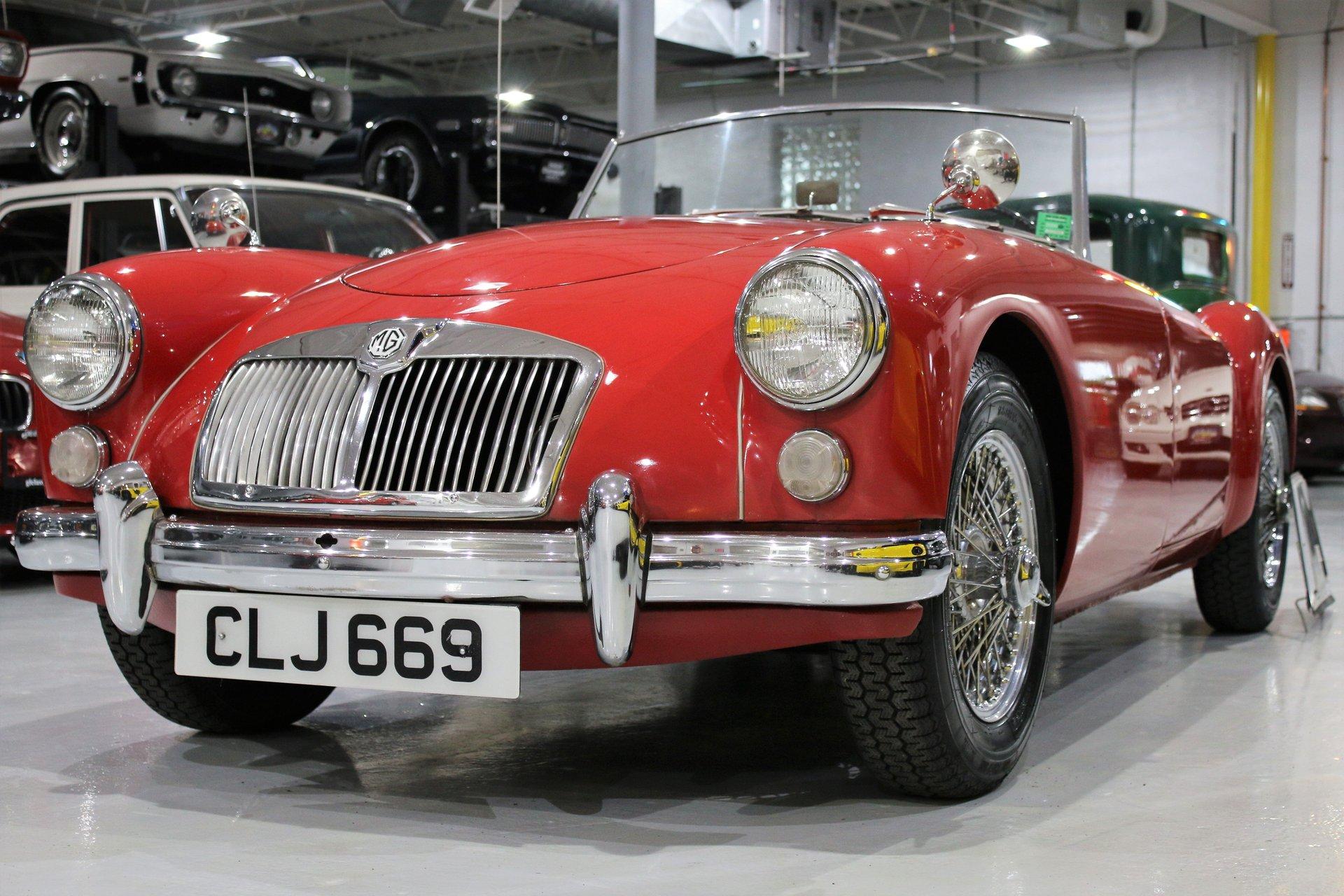 1961 mg mga 1600 convertible