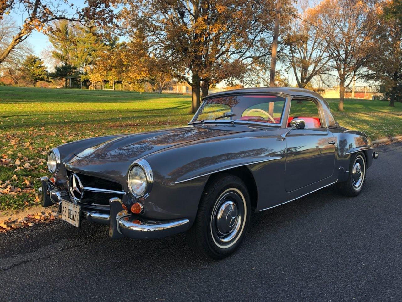 1962 mercedes benz 190sl roadster
