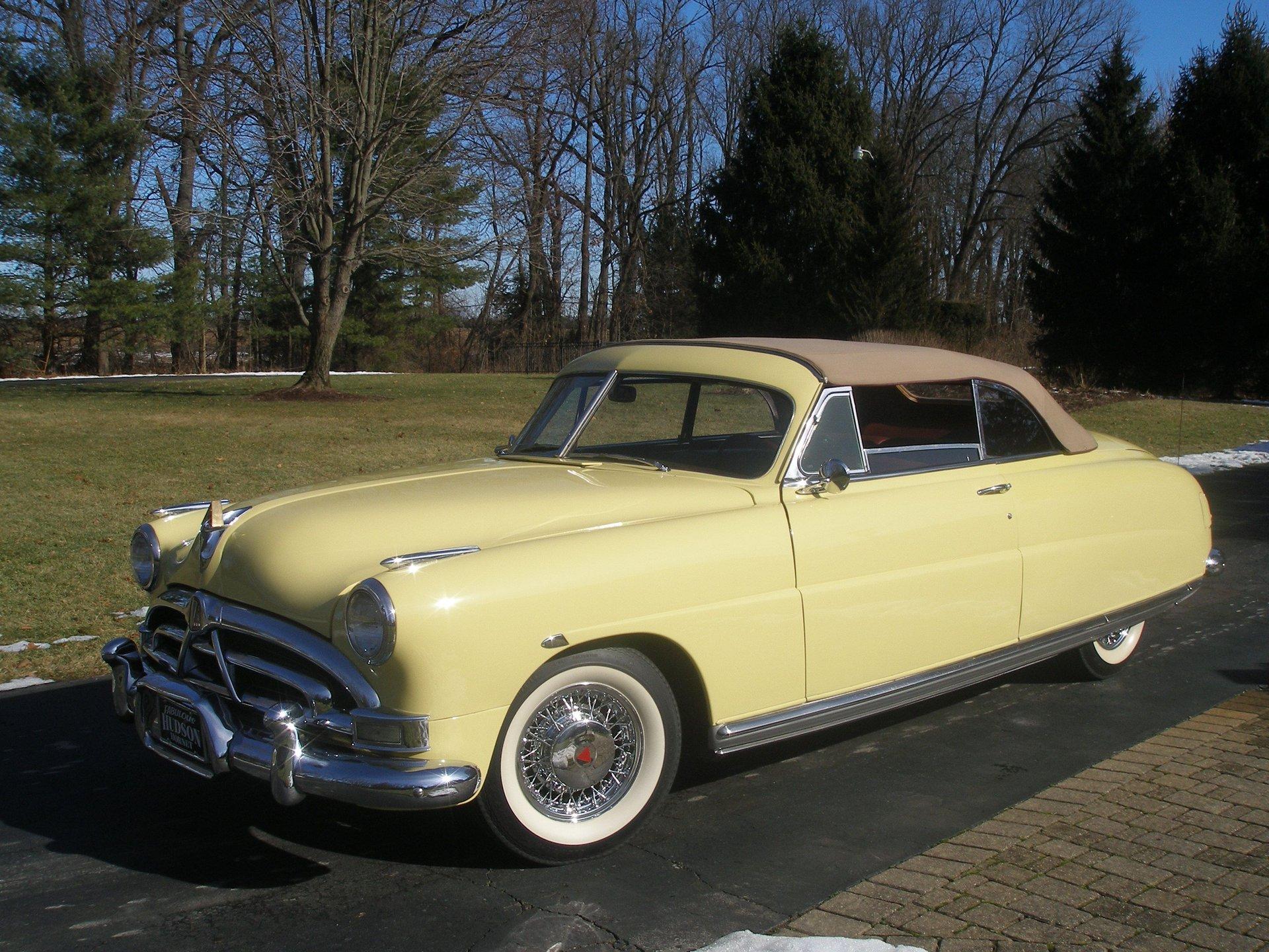 1951 hudson hornet custom convertible