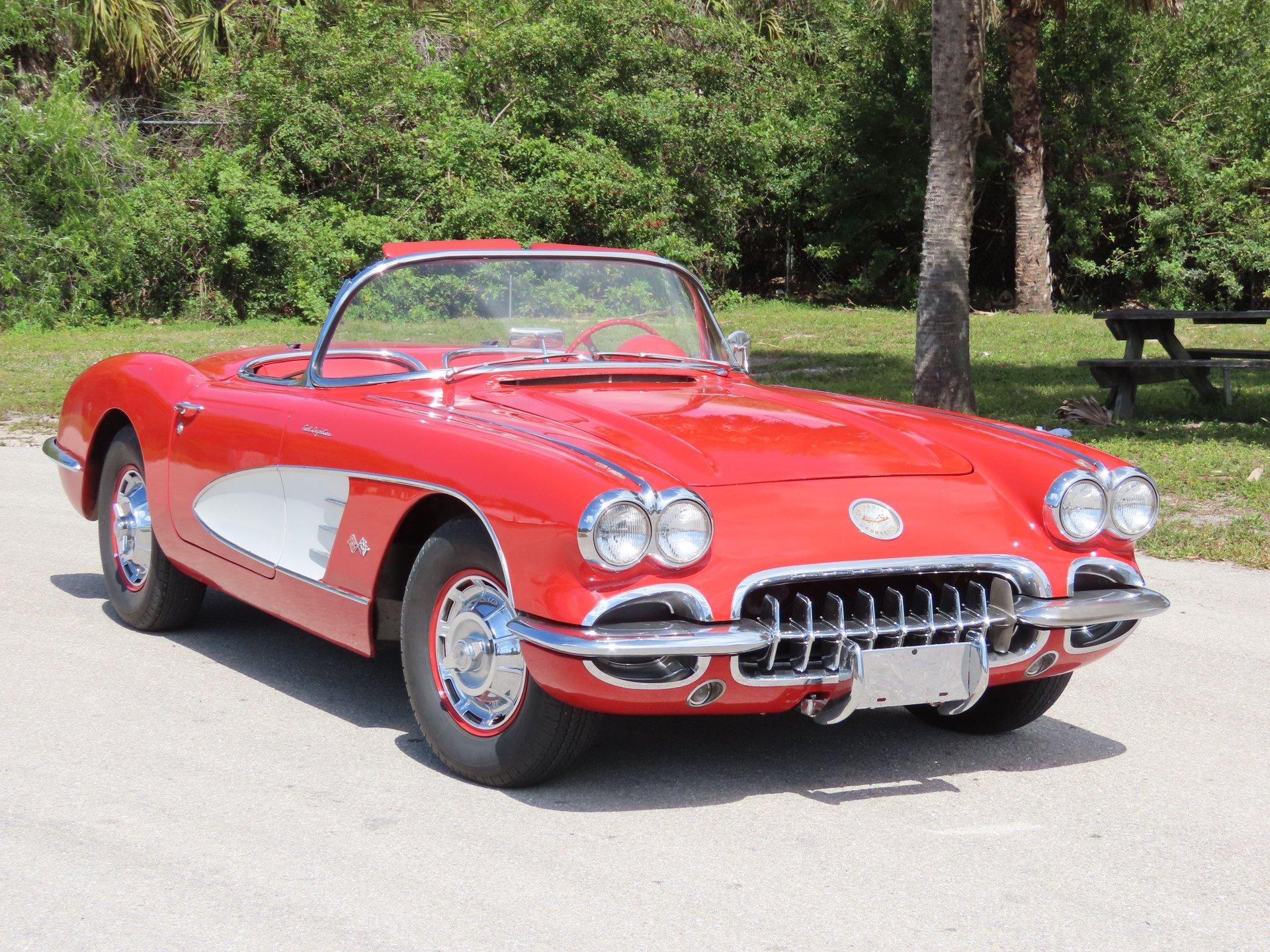 1960 chevrolet corvette fuelie convertible