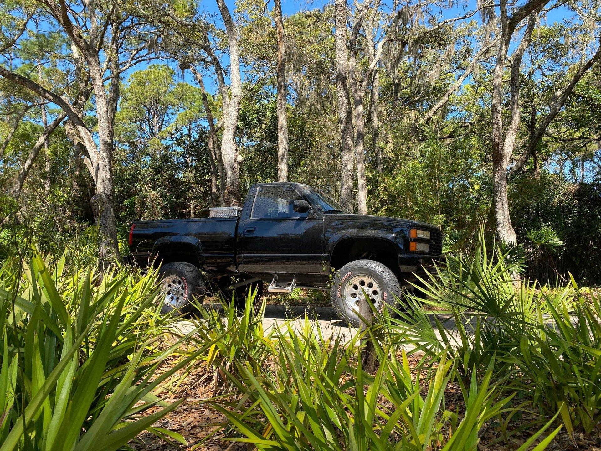 1992 chevrolet k 1500 4 x 4 pickup