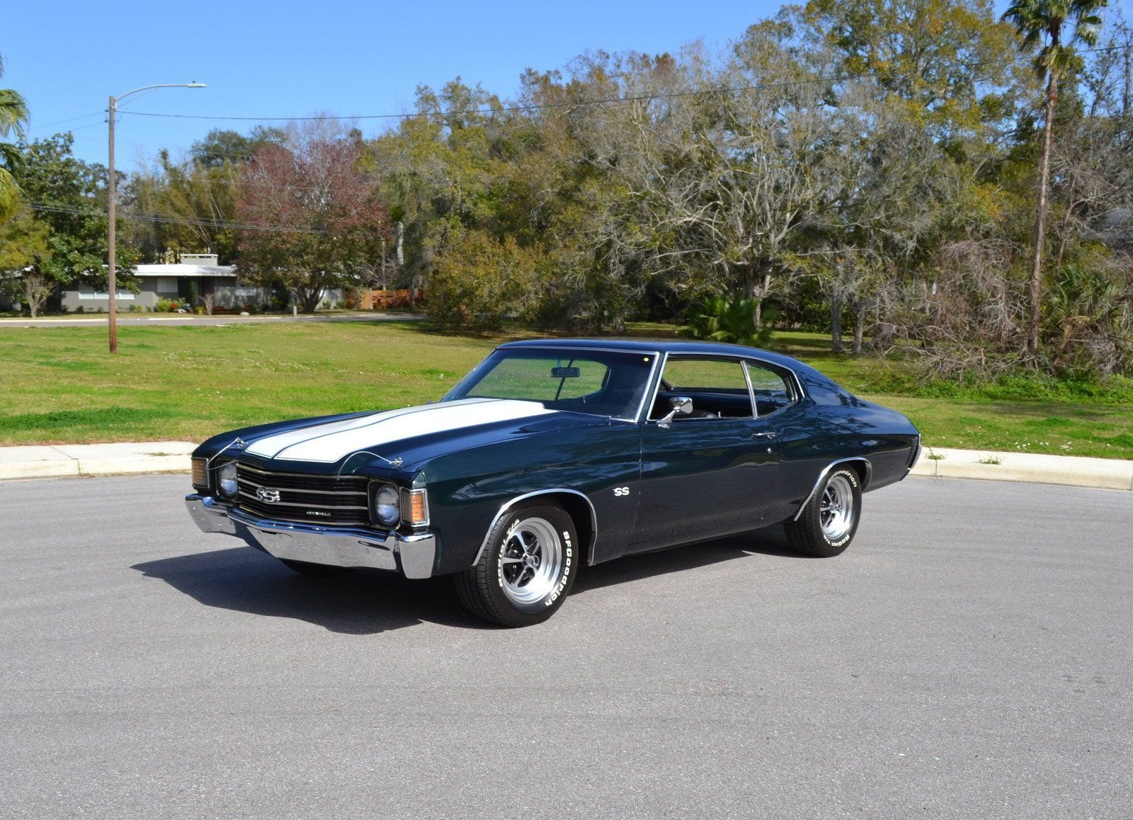 1972 chevrolet chevelle ss coupe tribute