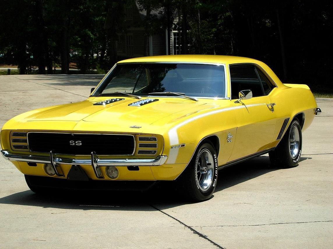 1969 chevrolet camaro rs ss coupe