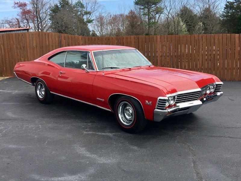 1967 chevrolet impala ss hardtop