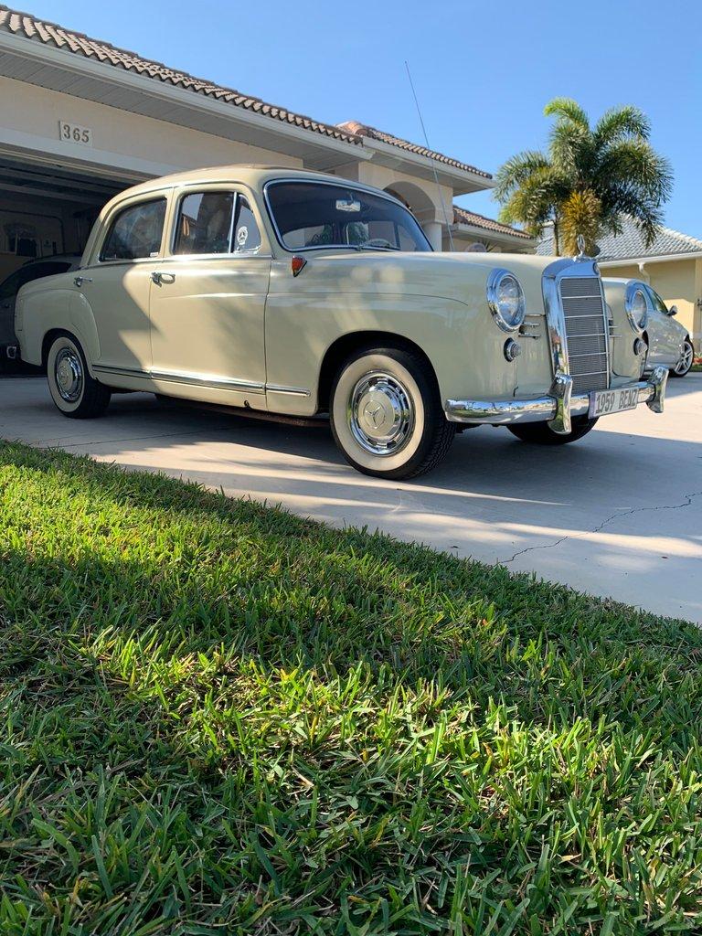1959 Mercedes-Benz 190 B