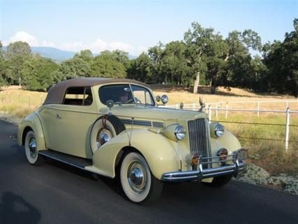 1938 packard 120 movie car convertible