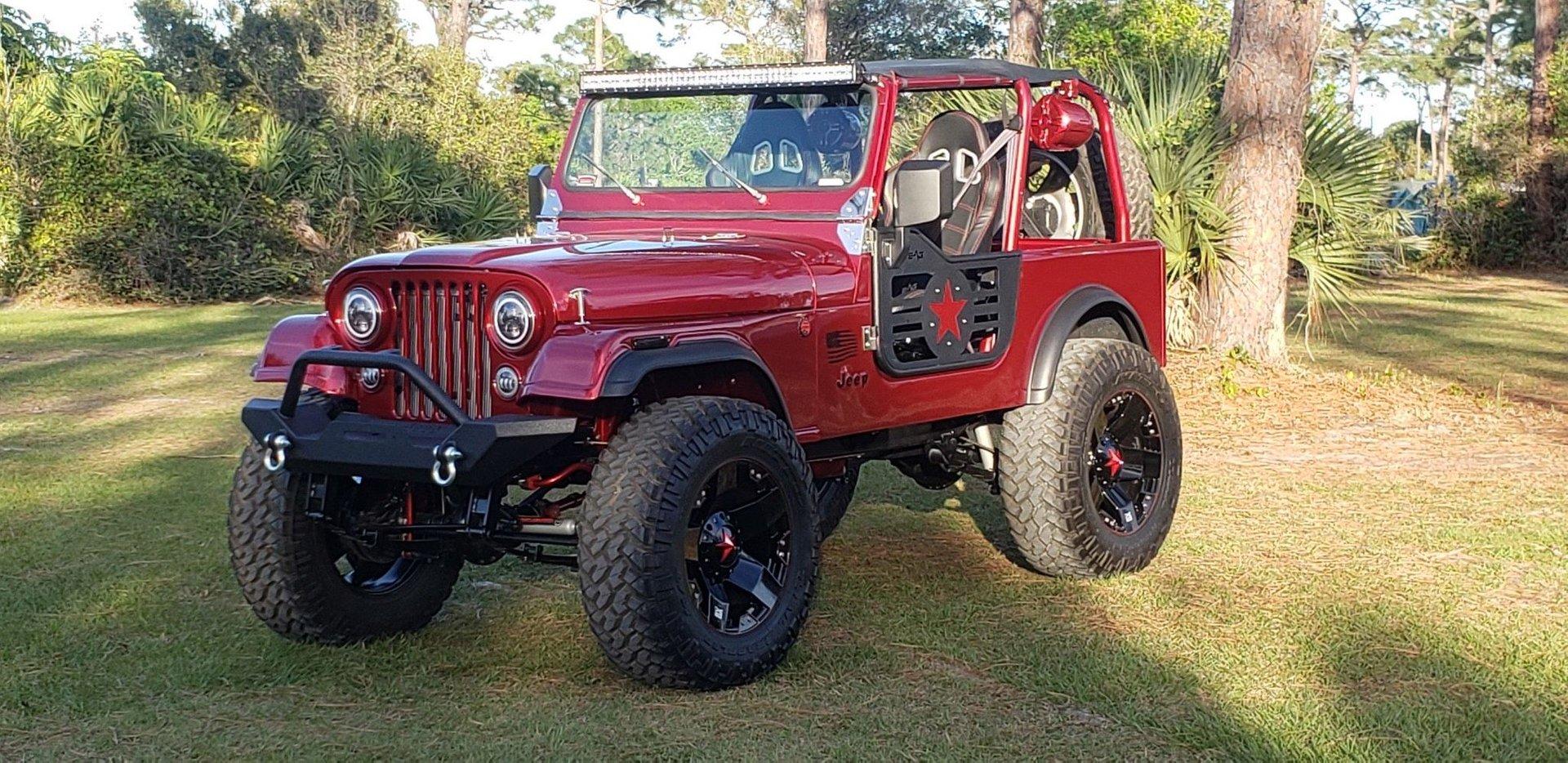 1985 jeep cj 7 4 x 4
