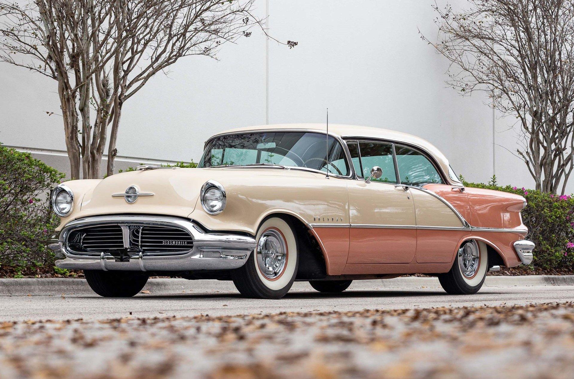 1956 oldsmobile super 88 hardtop