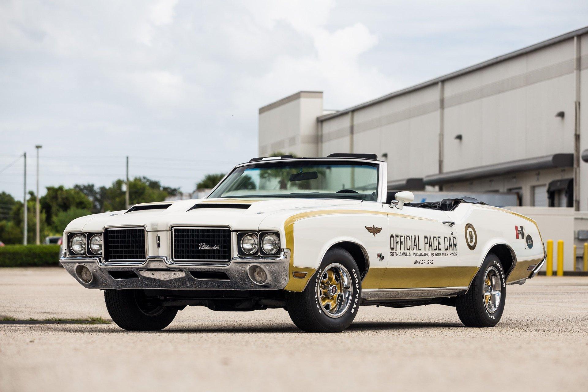 1972 oldsmobile cutlass hurst olds convertible