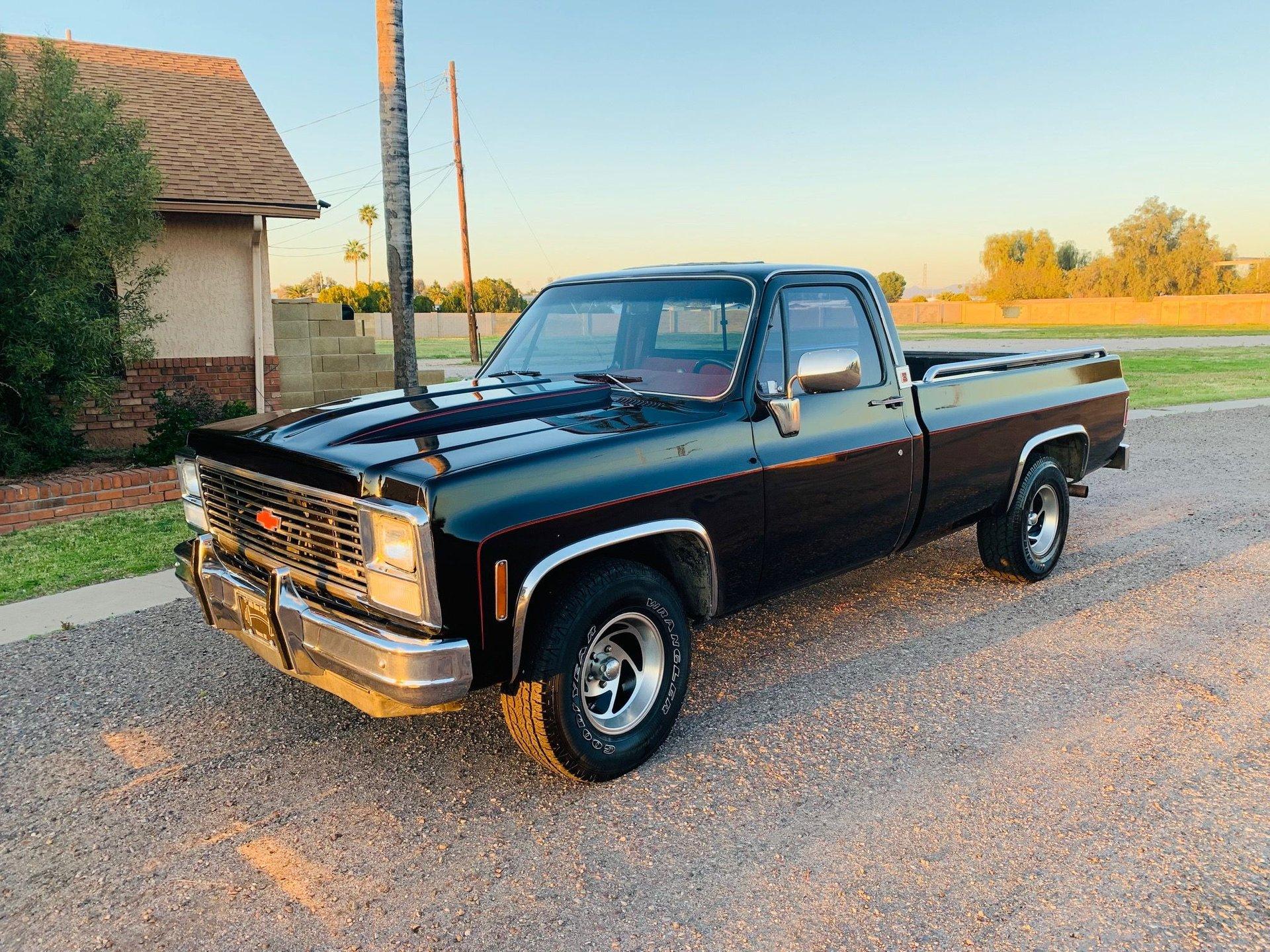 1980 chevrolet c10 custom pickup