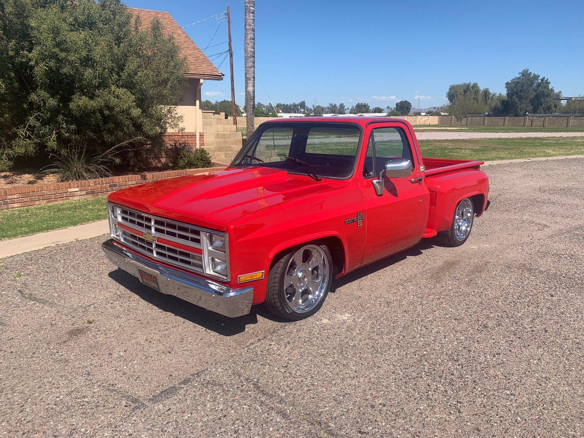 1986 chevrolet c10 custom pickup