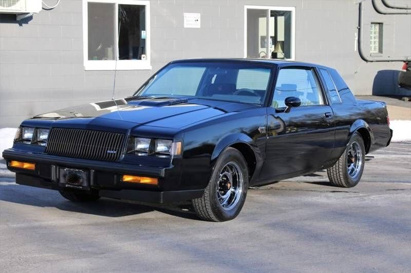1986 buick grand national coupe