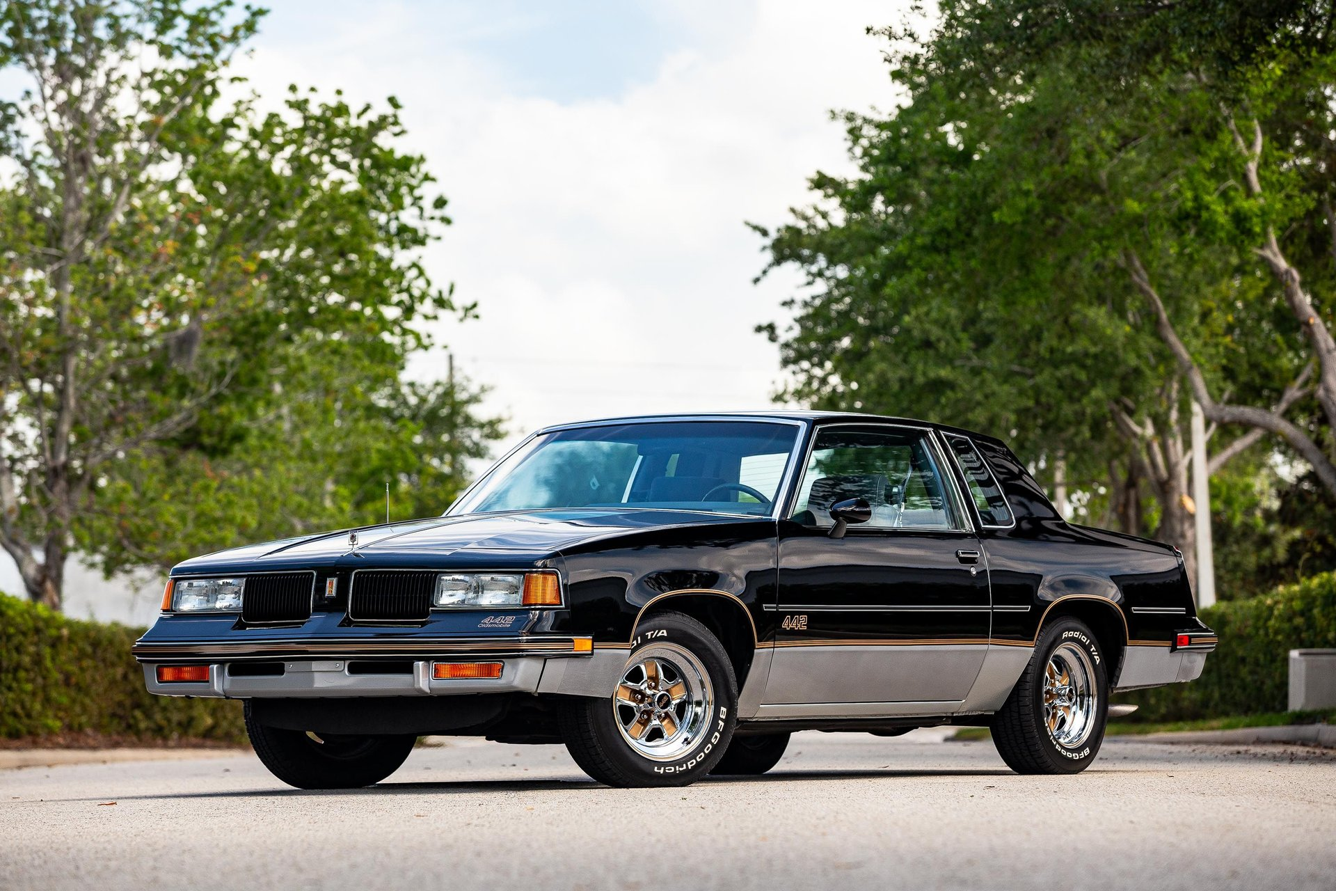 1987 oldsmobile cutlass 442 coupe