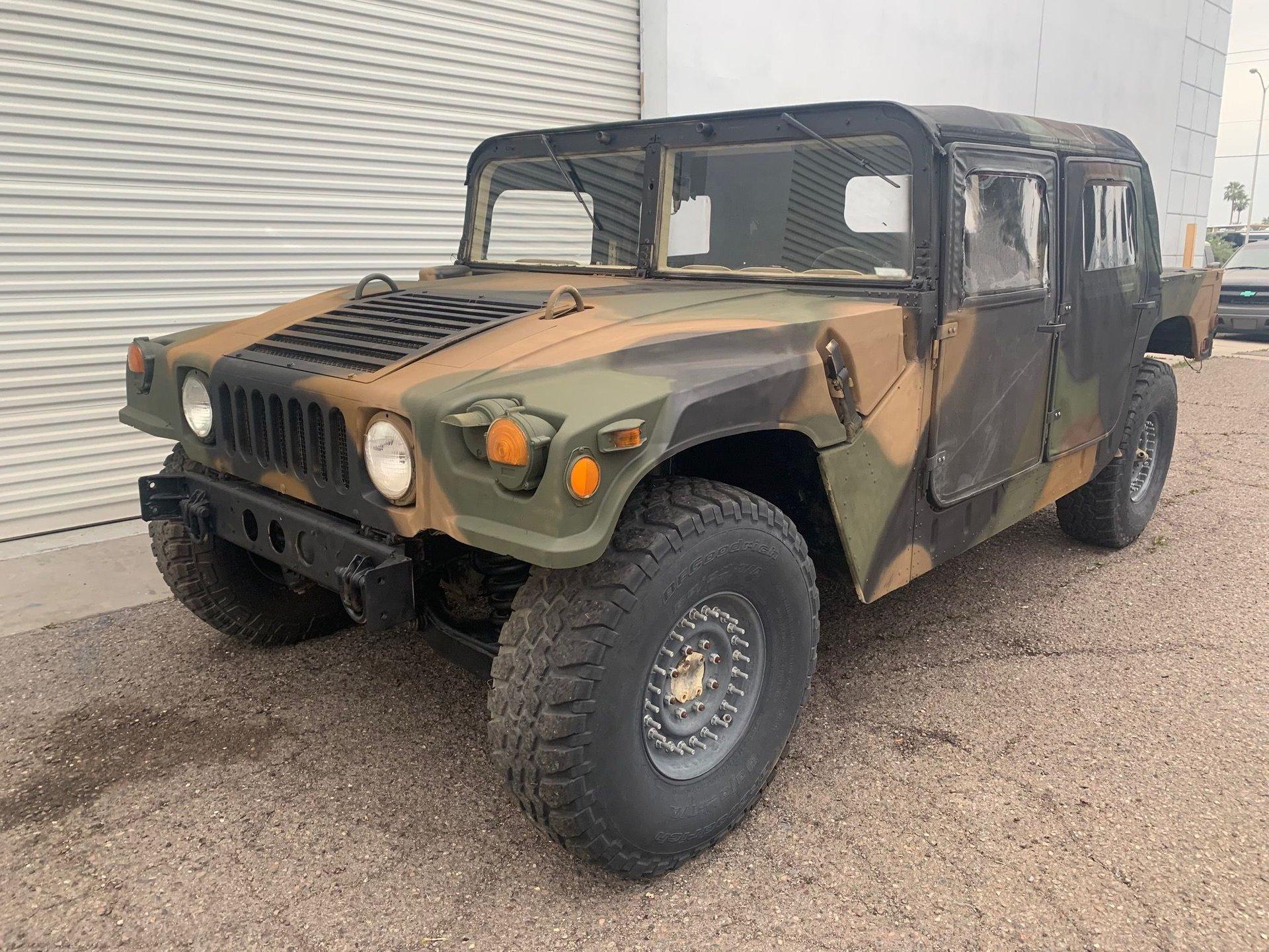 1993 american general humvee m98 military