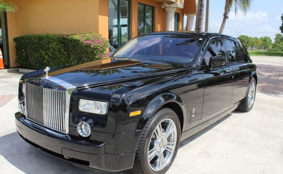 2008 rolls royce phantom sedan