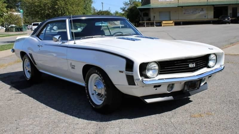 1969 chevrolet camaro ss 396 coupe