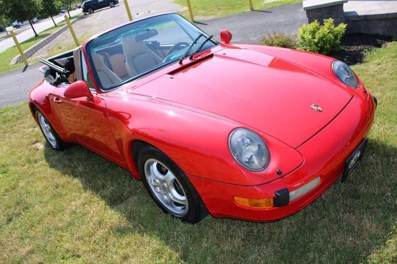 1995 porsche 911 993 cabriolet